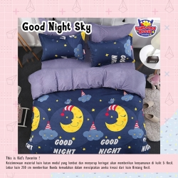 Sprei STAR Good Night Sky Navy
