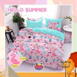 Sprei STAR Hello Summer Pink