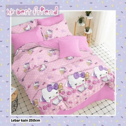 Sprei STAR HK. Best Friend Pink
