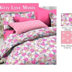 sprei-star-kitty-love-mania-pink