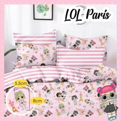Sprei STAR LOL Paris Pink