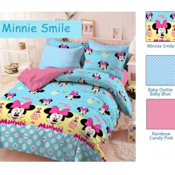 sprei-star-minnie-smile-biru