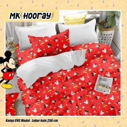 Sprei STAR MK Hooray Merah