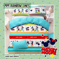 Sprei STAR MM Rainbow Line