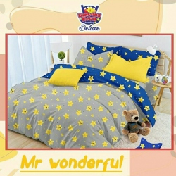 Sprei STAR Mr. Wonderful Abu
