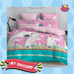 Sprei STAR My Unicorn Pink
