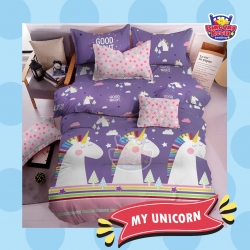 Sprei STAR My Unicorn Ungu