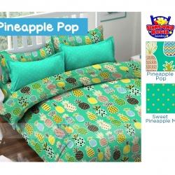 sprei-star-pineapple-pop-hijau