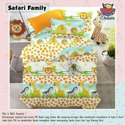 Sprei STAR Safari Family