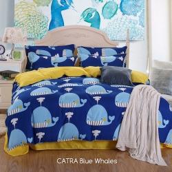 Sprei CATRA Blue Whales
