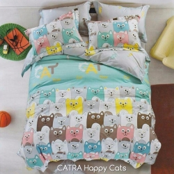 Sprei CATRA Happy Cats