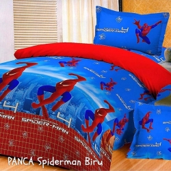 panca-spiderman-biru