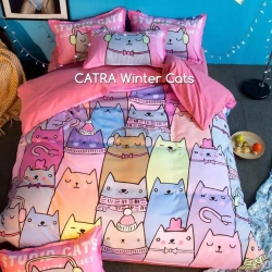 sprei-catra-winter-cats