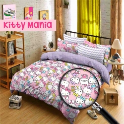 Sprei Star kitty-mania-pink