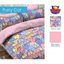 sprei-star-purry-cat