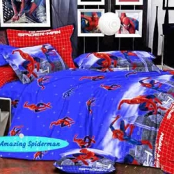 Sprei Star spiderman-amazing-biru