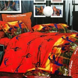 Sprei Star spiderman-amazing-merah