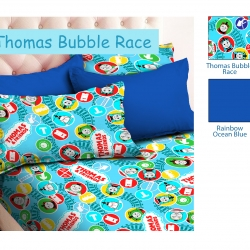 sprei-star-thomas-bubble-race-biru-muda