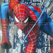 Spiderman Biru