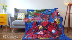 Selimut Bulu Lembut New Seasons Avengers
