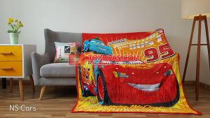 Selimut Bulu Lembut New Seasons Cars