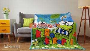 Selimut Bulu Lembut New Seasons Keroppi
