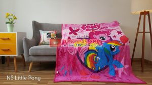 Selimut Bulu Lembut New Seasons Little Pony