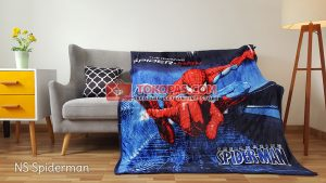 Selimut Bulu Lembut New Seasons Spiderman