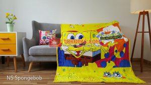 Selimut Bulu Lembut New Seasons Spongebob