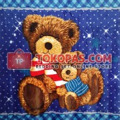 Selimut My Dream Bear Biru