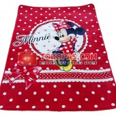 Karpet Selimut MD Minnie Polkadot