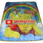 Karpet Selimut NS Pooh Rainbow
