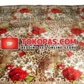 Karpet Selimut NS Tiger Rose