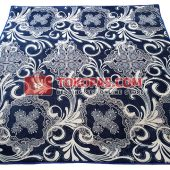 Karpet Selimut Bulu Lembut Little Angel LA Ocean Blue