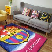 Karpet Selimut Karakter Golden GD Barca