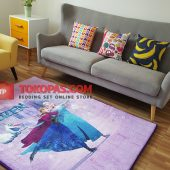 Karpet Selimut Karakter Golden GD Frozen