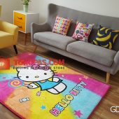 Karpet Selimut Karakter Golden GD HK. Candy