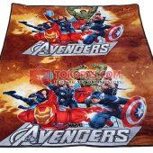 Karpet Selimut JN Avengers
