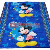 Karpet Selimut JN Mickey Biru
