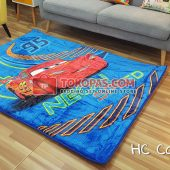 Karpet Selimut Karakter Happy Castle HC Cars Neon