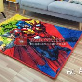 Karpet Selimut Karakter Happy Castle HC Avengers