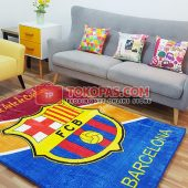 Karpet Selimut Karakter Happy Castle HC Barca