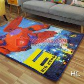 Karpet Selimut Karakter Happy Castle HC Big Hero