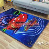 Karpet Selimut Karakter Happy Castle HC Cars Lightning