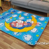 Karpet Selimut Karakter Happy Castle HC Doraemon Bulan