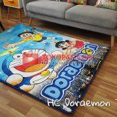 Karpet Selimut Karakter Happy Castle HC Doraemon Terbang