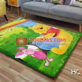 Karpet Selimut Karakter Happy Castle HC Pooh