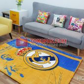 Karpet Selimut Karakter Happy Castle HC Real Madrid