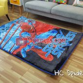 Karpet Selimut Karakter Happy Castle HC Spidey Strike
