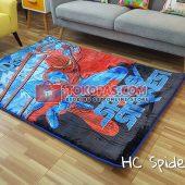 Karpet Selimut Karakter Happy Castle HC Spidey Strike